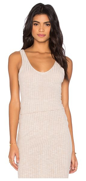 THE FIFTH LABEL Delilah Singlet Top - 65% poly 30% rayon 5% elastan. Hand wash cold. Rib knit...