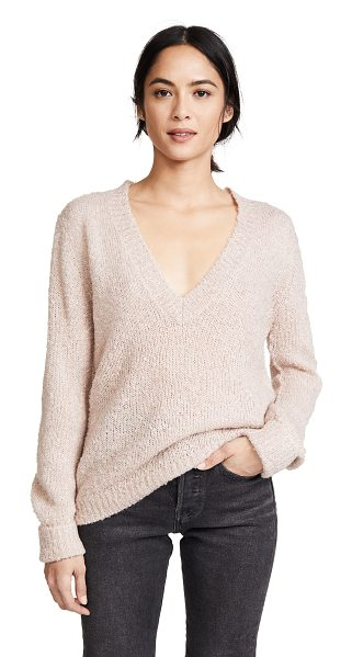 The Fifth Label exit knit pullover sweater in musk - A lightweight The Fifth Label sweater composed of soft,...