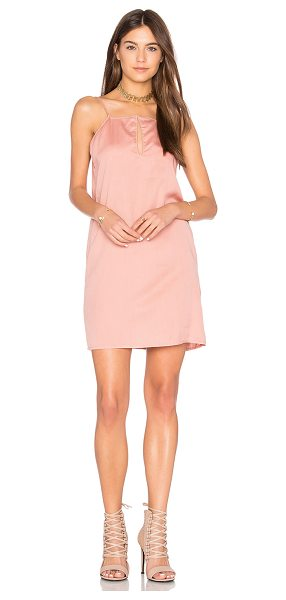 The Fifth Label Harmony Dress in dusty rose - 100% tencel. Hand wash cold. Unlined. Neckline keyhole...