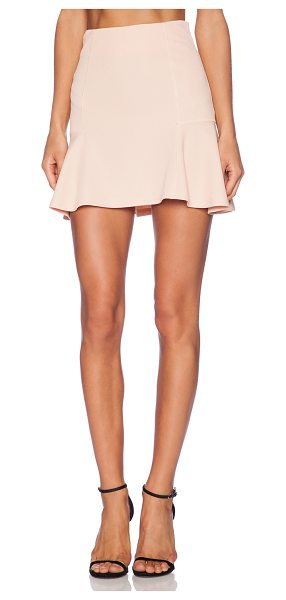 "The Fifth Label Move your feet skirt in blush - Poly blend. Skirt measures approx 17"""" in length...."