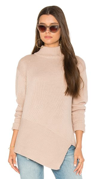 The Fifth Label The Call Out Knit in blush - 100% acrylic. Hand wash cold. Side seam slit. Knit...