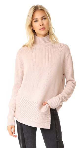The Fifth Label the call out sweater in pink haze - This slouchy The Fifth Label turtleneck sweater has an...