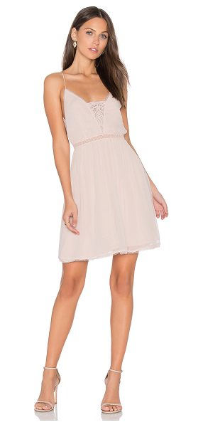 THE JETSET DIARIES Basilica Slip Dress in blush - Main: 100% viscoseLining: 100% rayonContrast: 60% cotton...