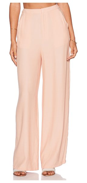 THE JETSET DIARIES Katherine Pant in peach - Poly blend. Front slant pockets. JTST-WP1. J2151072....