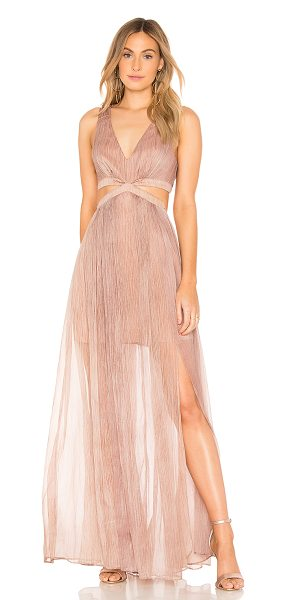 THE JETSET DIARIES Margot Maxi Dress in taupe