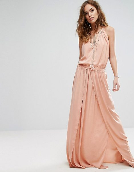 "THE JETSET DIARIES Omara Maxi Dress in pink - """"Maxi dress by The Jetset Diaries, Silky-feel woven..."