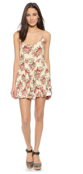 THE LAUNDRY ROOM Lanikai dress - A floral The Laundry Room mini dress with a smooth feel....