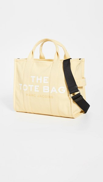 THE MARC JACOBS small traveler tote in cream