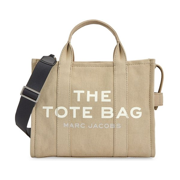 THE MARC JACOBS small traveler tote in beige