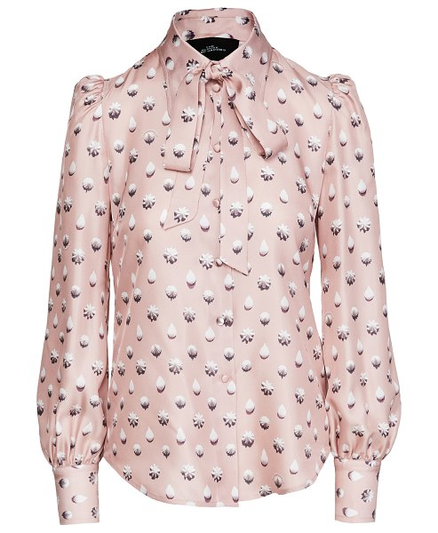 THE MARC JACOBS the blouse in dusty pink