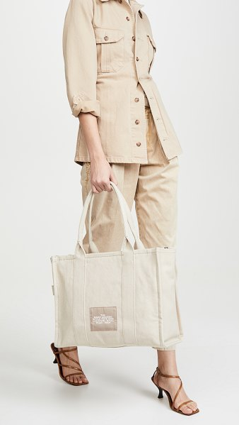 THE MARC JACOBS the large tote bag in beige