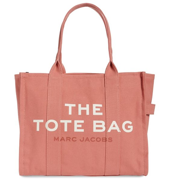 THE MARC JACOBS traveler canvas tote in pink