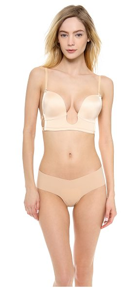 The Natural plunge bra in nude