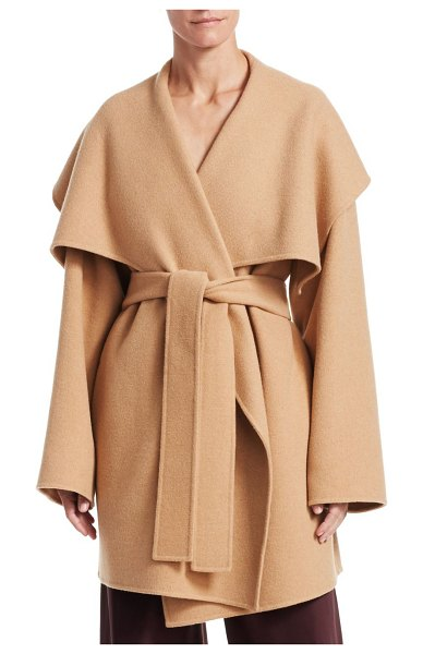 The Row disa jacket in light camel