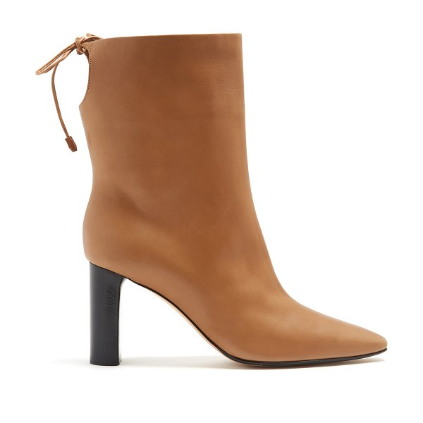 Manchester cheap price low cost for sale The Row Emil leather ankle boots wide range of online zoqpSai6