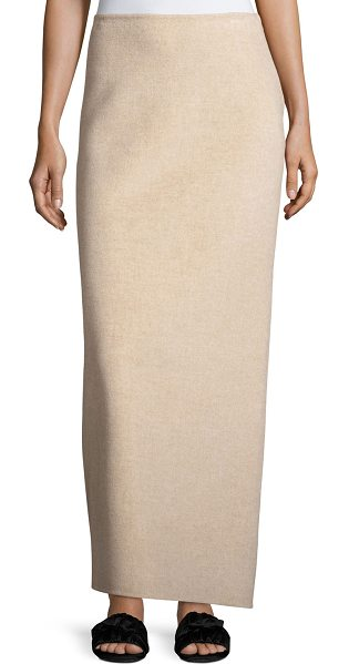 "The Row Ernst Wool Maxi Skirt in sand - THE ROW ""Ernst"" maxi skirt. Sits below natural waist...."