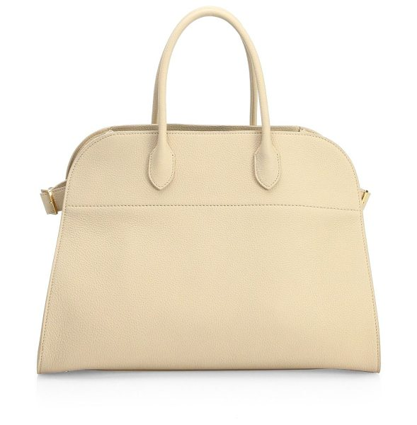 The Row margaux 15 top handle bag in natural