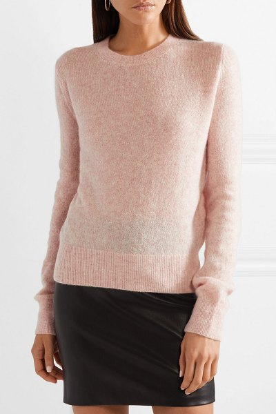 The Row minco cashmere and silk-blend sweater in pink - Even though The Row's collections are mostly supported...