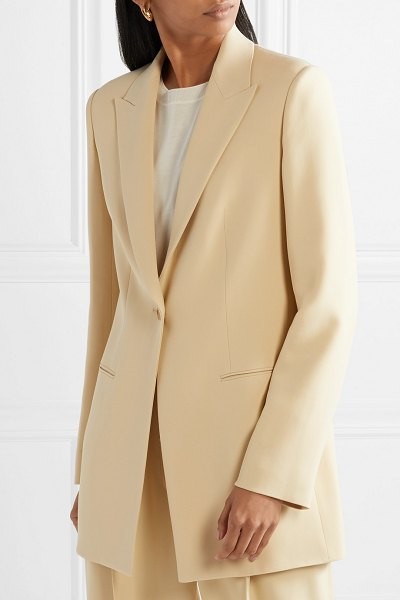 The Row resner cady blazer in beige - Whether you're dressing to give a business presentation...