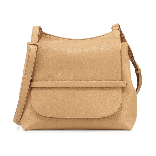 The Row Sideby Calf Crossbody Bag in tan pld