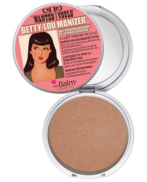 theBalm Betty-lou manizer bronzing highlighter in betty-lou manizer - Fake it, don't bake it. Before you head out to relish...