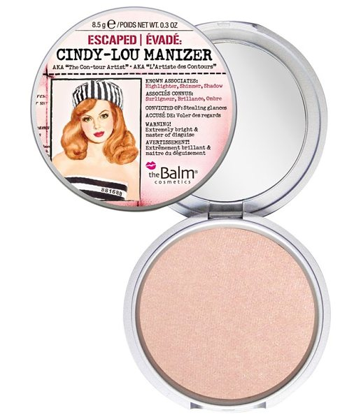 theBalm Cindy-lou manizer highlighter in cindy-lou manizer