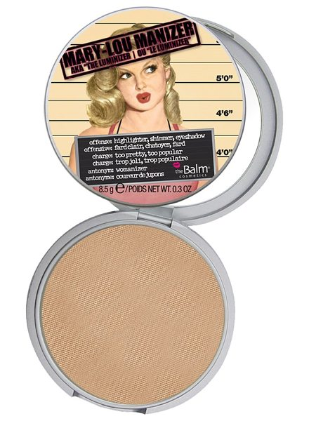 theBalm Mary-lou manizer highlighting powder in mary-lou manizer