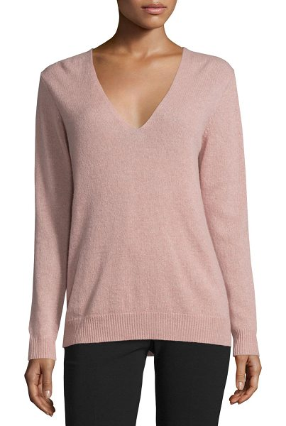 "Theory Adrianna r. cashmere sweater in neutral - Theory ""Adrianna R."" sweater in cashmere. Approx...."