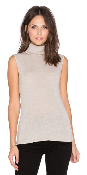 Theory Aleti sweater tank in tan - 100% merino wool. Dry clean only. THEO-WK145. F0821520....