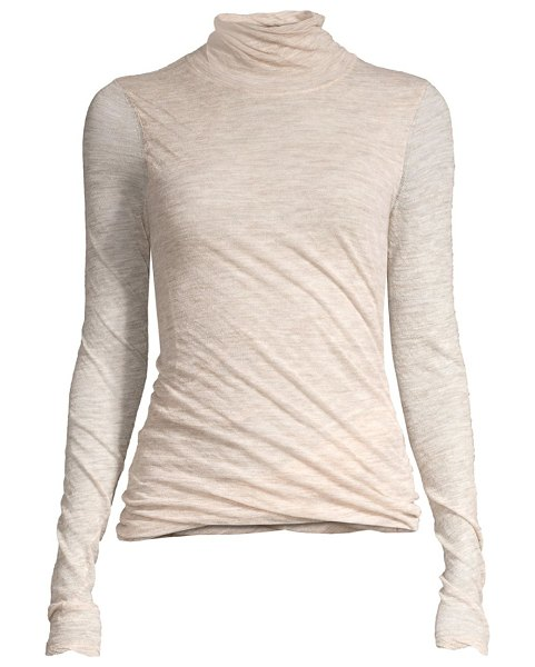 5ee99a4f1d2 Theory Alpaca-Blend Twist Turtleneck