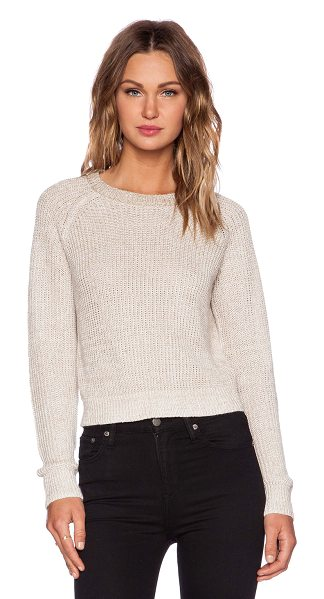 Theory Brombly b sweater in beige