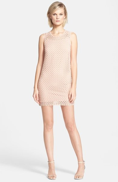 Theory natialee knit tunic in rusty pink