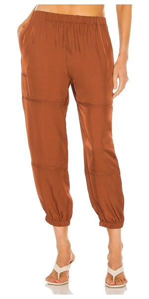 Theory slim cargo pant in clay