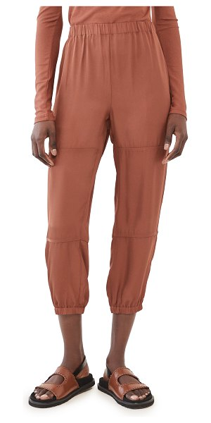 Theory slim cargo pants in clay