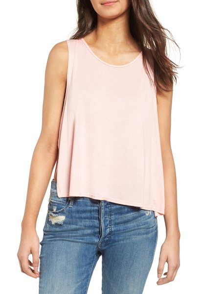 THIEVES LIKE US side slit tank - Artfully layered side vents show off some skin in this...