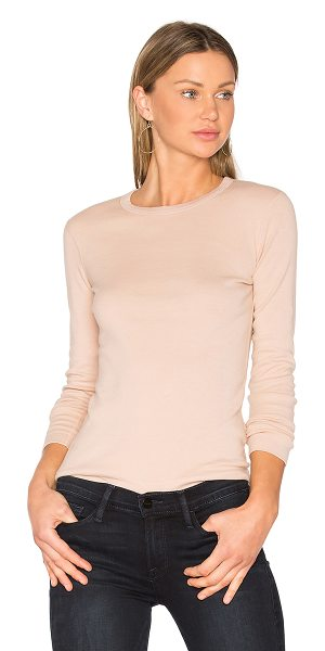 THREE DOTS Long Sleeve Crewneck Tee - 100% cotton. THRR-WS125. AA2C035. Three Dots is an...