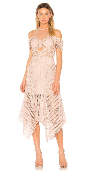 Thurley Sand Dune Dress in nude - Self, Lining, Trim: 100% polyContrast: 100% nylon. Dry...