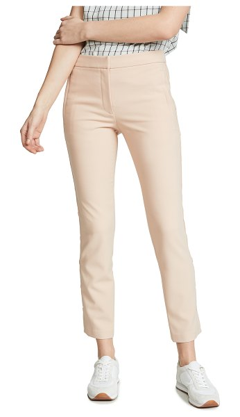 Tibi cropped skinny pants in blush