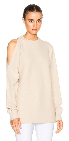 TIBI Cut Out Shoulder Sweater - Tibi is a New York based advanced contemporary brand...