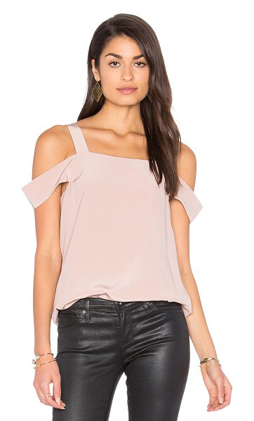 TIBI Cut Out Sleeve Tank - Poly blend. Dry clean only. TIBI-WS385. TR116CDC74721....