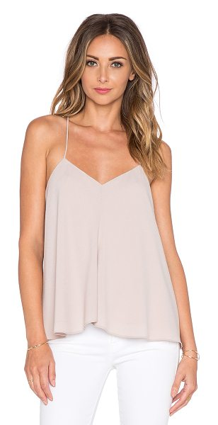 Tibi Savanna draped cami in beige - Self: 55% triacetate 45% polyLining: 100% poly. Dry...