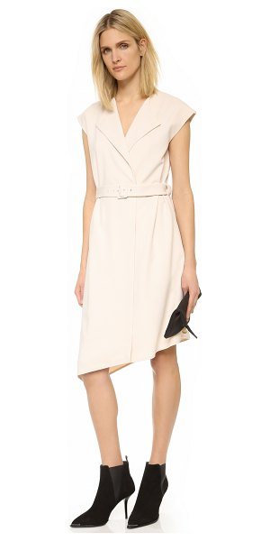 Tibi Trench dress in morro sand - A sophisticated Tibi dress with a trench coat inspired...