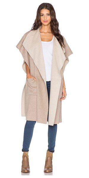 TIBI Wool coat - 60% virgin wool 40% angora. Dry clean only. Snap button...