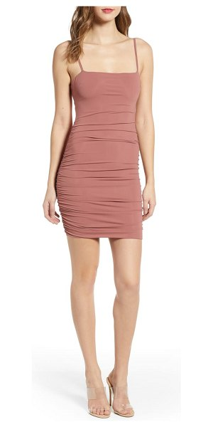 tiger Mist sunrise dress in pink - An essential going-out dress features ultra-slender...