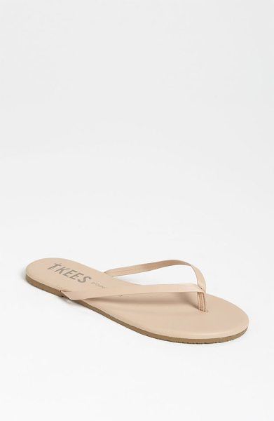 TKEES 'foundations' flip flop in sunkissed - Slim straps show off your pedicured polish on an...