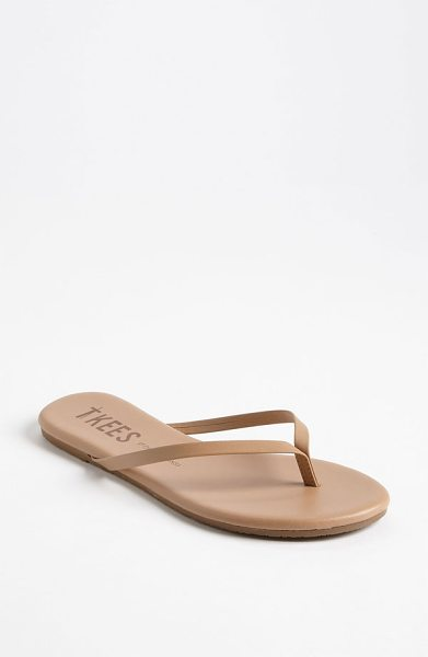 TKEES 'foundations' flip flop - Slim straps show off your pedicured polish on an...