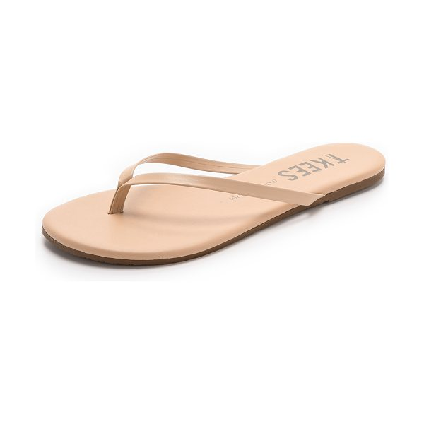 TKEES Foundations flip flops in sunkissed