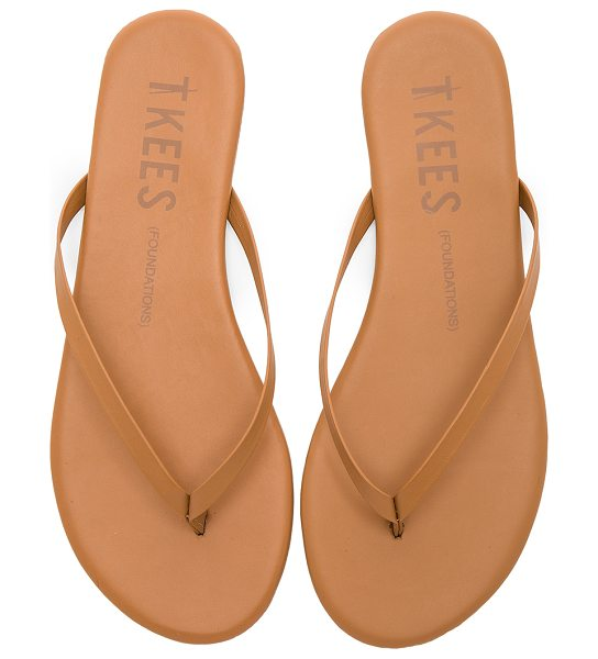 TKEES Foundations Flip Flops - Leather upper with rubber sole. TKEE-WZ49. FOUN. For...