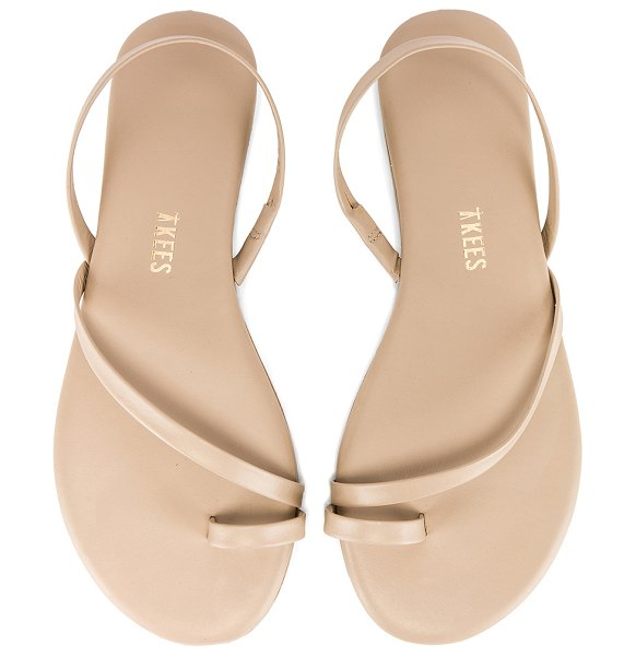 TKEES lc sandal in taupe