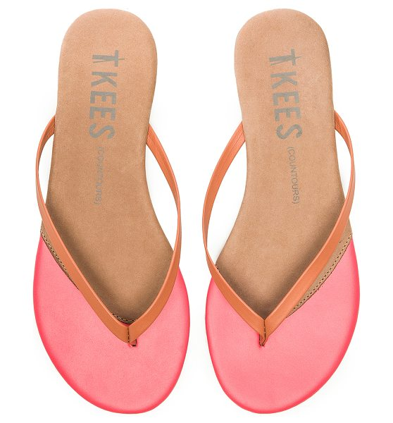 TKEES Sandal in pink - Leather upper with rubber sole. TKEE-WZ32. CONTOURS. For...